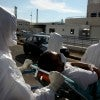 Hospitals are preparing for Ebola patients,  whose treatment might have been advanced if the Obama administration had   made full use of the Bush administration's Project BioShield. (Photo: Kourtoglou/Newscom)