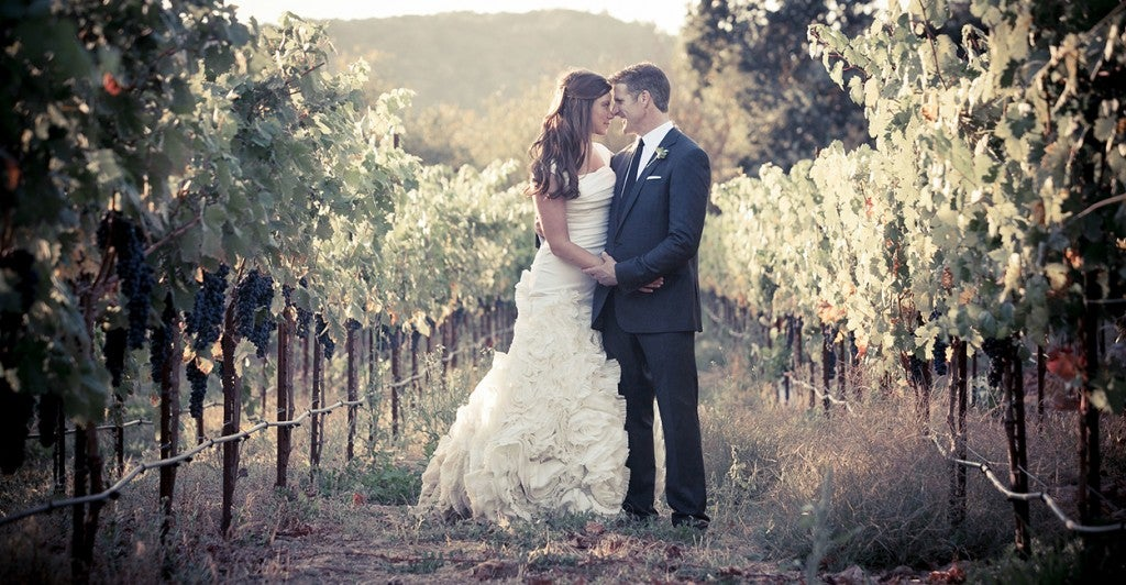 Brittany Maynard & husband Dan Diaz at their wedding. (Photo: PRNewsFoto/Compassion & Choices)