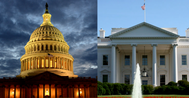 Congress may refuse to appropriate fees the White House wants to use to pay for its immigration moves, a report says.  (Photos: Newscom)