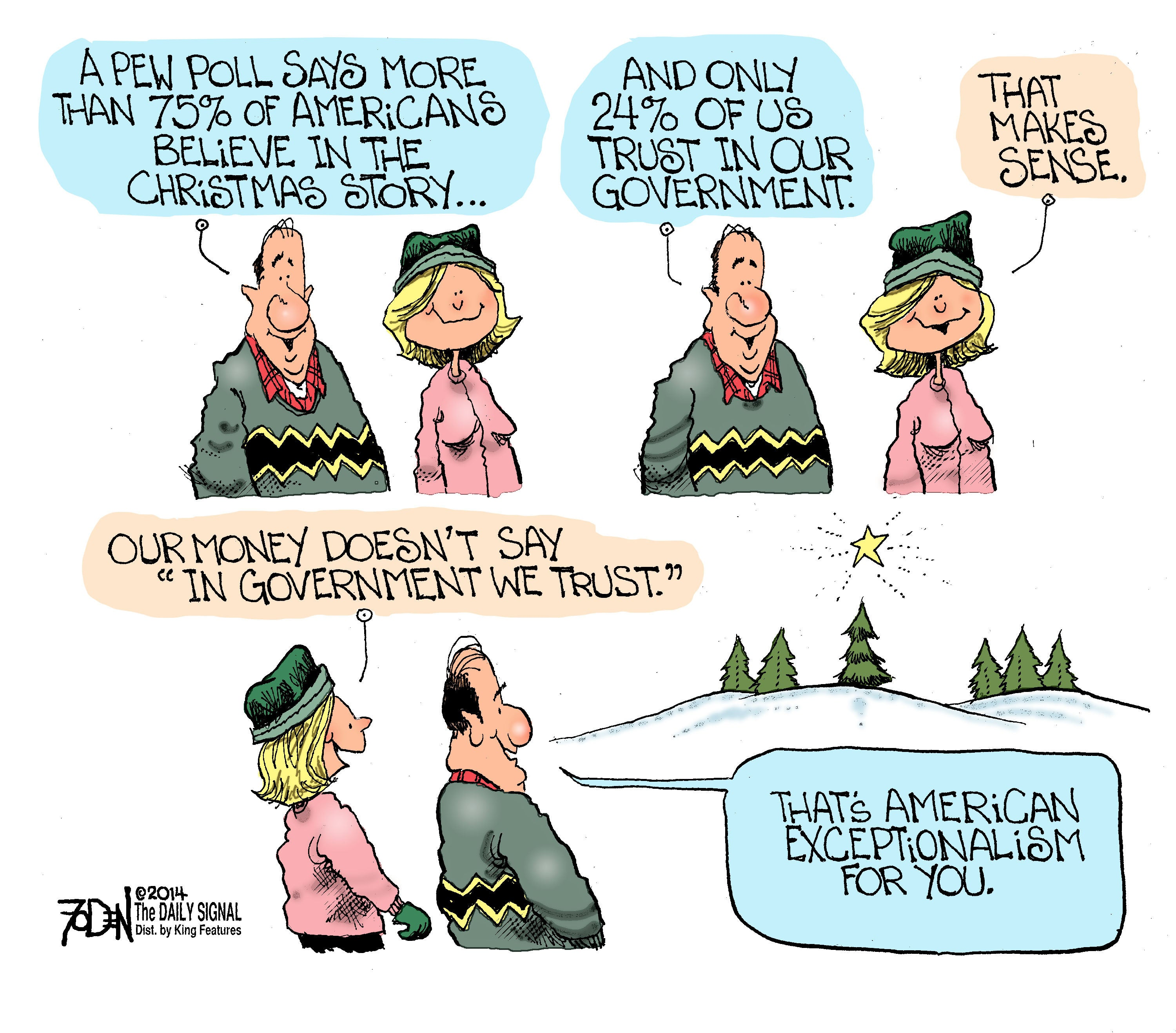 Cartoon: What Christmas Means to Americans