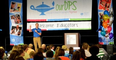 Devnver Public Schools New Educator Welcome Day 2014. (Photo: Paul Iwancio/Creative Commons)