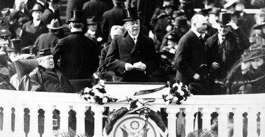 Woodrow Wilson was the first president in more than a century to deliver the State of the Union address in person and verbally to Congress. (Photo: World History Archive/Newscom)