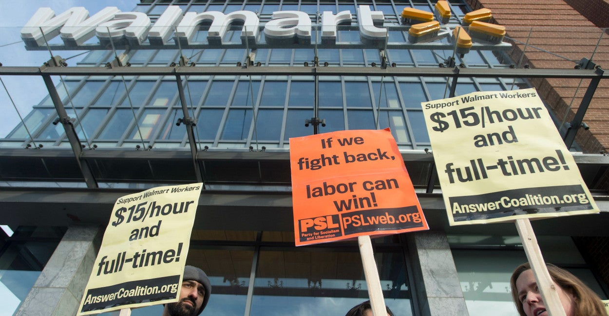 oakland s minimum wage is up wal mart is out