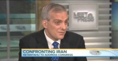 White House Chief of Staff Denis McDonough speaks on Meet the Press. (Photo via YouTube)