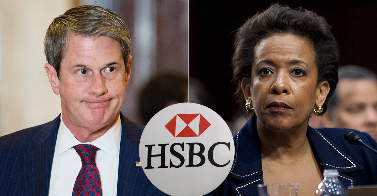 Senator to Loretta Lynch: Why Did No One Go to Jail for Laundering