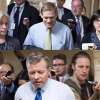 Reps. Jim Jordan, R-Ohio and Charlie Dent, R-Pa. differ on how to handle a showdown over funding Homeland Security. (Photos: Roll Call/Newscom)