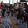 Sean Hannity interviews Louisiana Gov. Bobby Jindal during the Conservative Political Action Conference at the Gaylord National Conference Center in Maryland. (