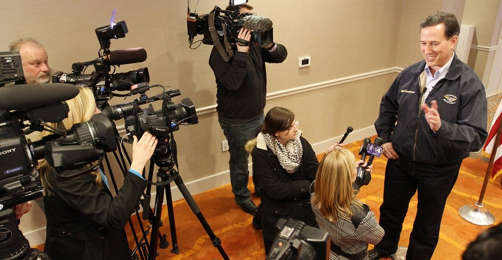 Former Sen. Rick Santorum, R-Pa.  (Photo: Kevin E. Schmidt/Quad-City Times/ZUMA Wire)