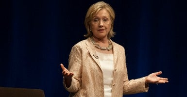 Hillary Clinton. (Photo: Rustin Gudim/ZUMA Press/Newscom)