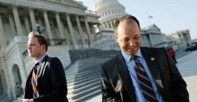 Rep. Marlin Stutzman, R-Ind., was tasked with crafting the conservative alternative to the president's budget. (Photo: Jonathan Ernst/Reuters/Newscom)