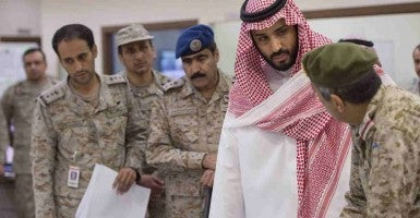 Saudi Arabian Defense Minister Mohammed Bin Salman. (Photo: wang bo Xinhua News Agency/Newscom)