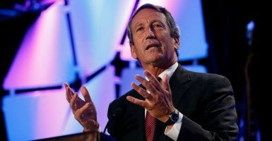 Rep. Mark Sanford. (Photo: Kevin Lamarque/Reuters/Newscom)