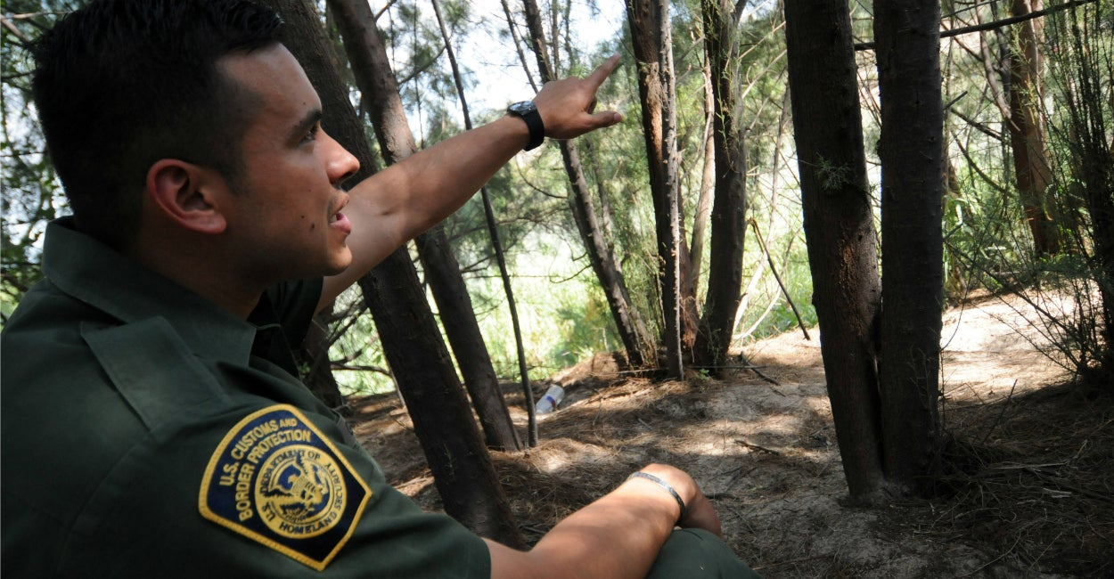 U.S. Border Patrol agent Joe Gutierrez. (Photo: Paul Hennessy/Polaris/Newscom)