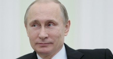 Vladimir Putin. (Photo: Metzel Mikhail/TASS/Newscom)