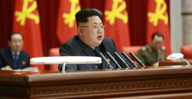 Kim Jong-un. (Photo: KCNA/Polaris/Newscom)