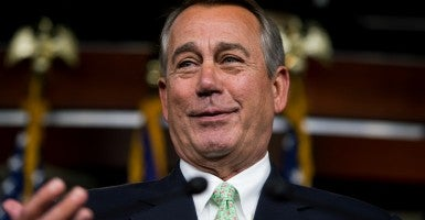 House Speaker John Boehner. (Photo: Tom Williams/CQ Roll Call/Newscom)