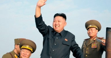 North Korean leader Kim Jong-Un . (Photo: KCNA/Reuters/Newscom)