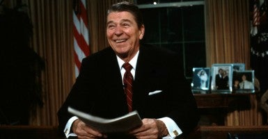 President Ronald Reagan (Photo: Pamela Price/ZUMAPRESS/Newscom)