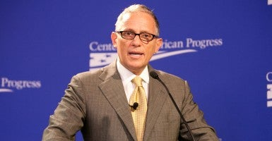 Export-Import Bank Chairman and President Fred Hochberg speaks at the liberal Center for American Progress in Washington, D.C. (Photo: Center for American Progress/Flickr/CC BY-ND 2.0)