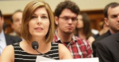 "Investigative reporter Sharyl Attkisson says of the Freedom of Information Act: ""Federal officials have perverted it and use it to obfuscate, obstruct and delay."" (Photo: House Oversight and Government Reform Committee)"