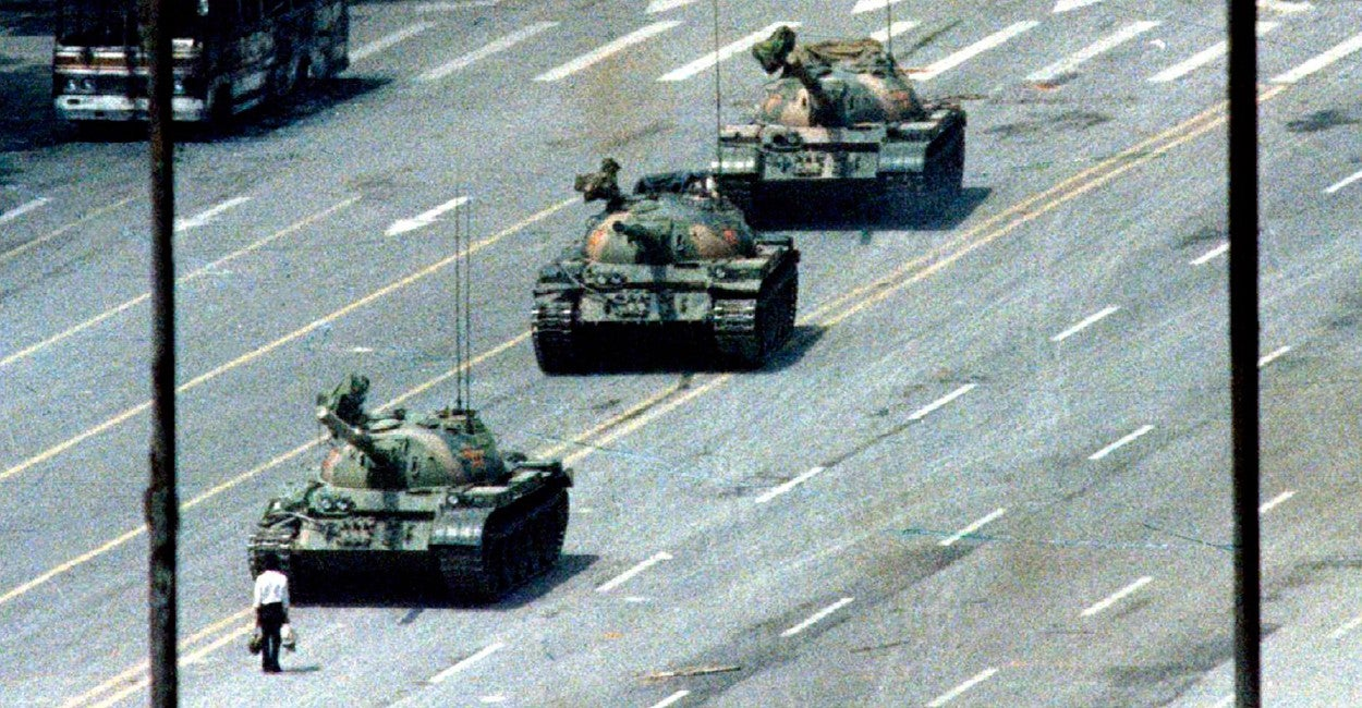 Image result for photos of june 4 1989 protest in Hong kong