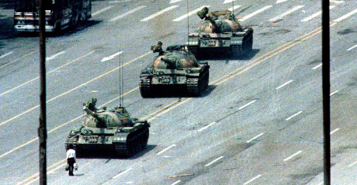 tiananmen square incident1989 compare to 1984 essay