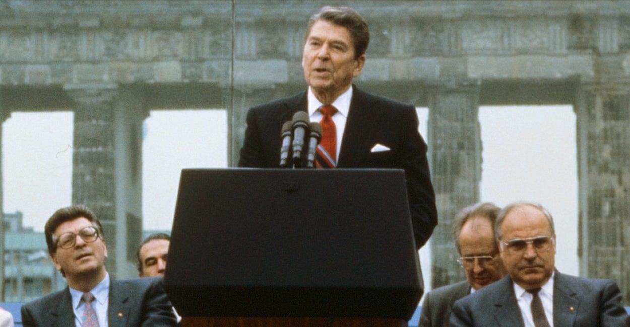 Remembering Reagan Tear Down This Wall