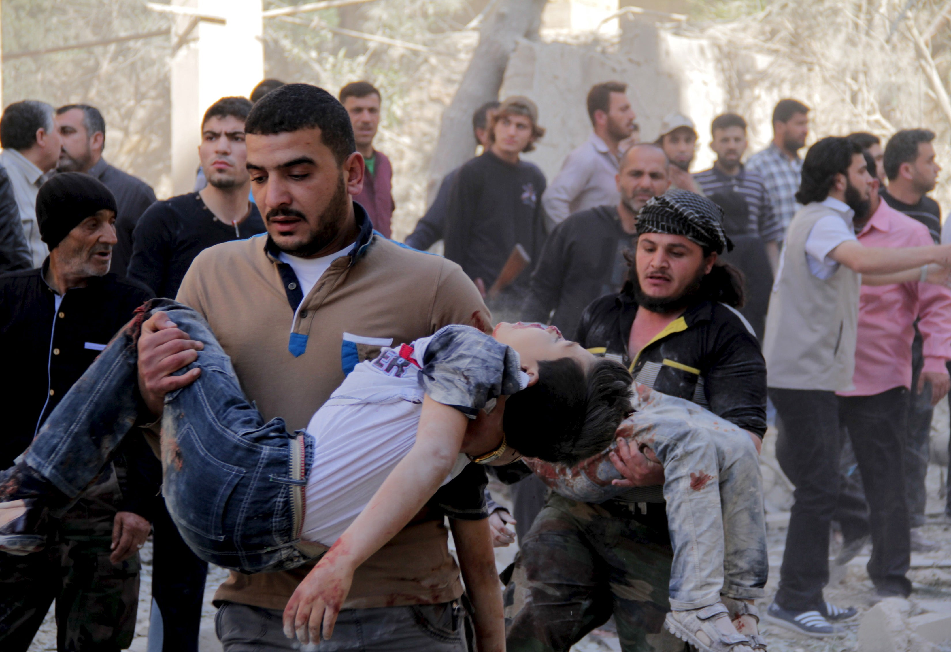 How Can Us Save Syrians From Chemical Weapons Attacks