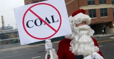 The EPA is working on regulations that could drive a final nail into the coal industry, which currently supplies almost half the nation's electricity. (Photo: Chris Maddaloni/CQ Roll Call/Newscom)