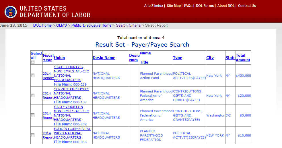 Photo: Screenshot, dol.gov