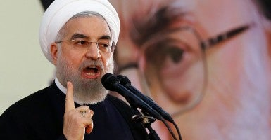 Iran President Hassan Rouhani is guiding the nuclear negotiations. (Photo: Abedin Taherkenareh/EPA/Newscom)