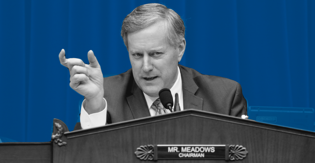 Rep. Mark Meadows, R-N.C., is pushing a motion to oust John Boehner as speaker.