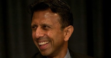 Gov. Bobby Jindal in Des Moines, Iowa. (Photo: Brian Cahn/ZUMA Press/Newscom)