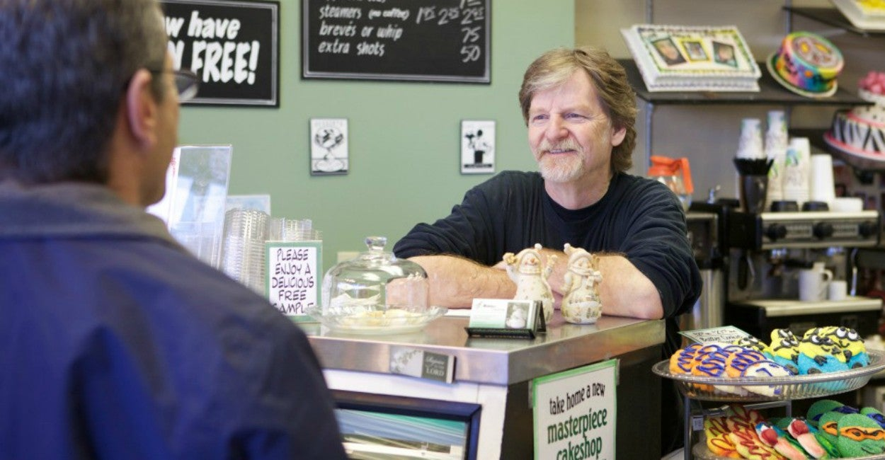 Image result for masterpiece cakeshop was targeted for being a christian business