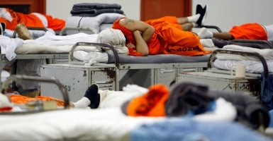 President Obama and a bipartisan group of Senators are pushing for criminal justice reform to address prison overcrowding. (Mike Blake/Reuters/Newscom)