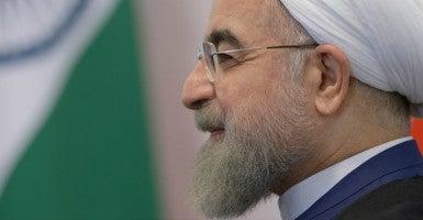 Iran's President Hassan Rouhani in July 2015. (Photo: BRICS/SCO PHOTOHOST/RIA NOVOST/EPA/Newscom)
