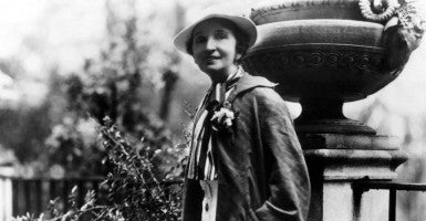 Margaret Sanger,the founder of Planned Parenthood. (Photo: CSU Archives/Everett Collection/Newscom)