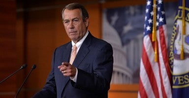 Speaker of the House John Boehner, R-Ohio, has called for an investigation into Planned Parenthood. (Photo: Kevin Dietsch/UPI/Newscom)