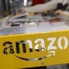 An Amazon spokeswoman said two book reviews were removed because they violated the retailer's guidelines. (Photo: Jakub Kaczmarczyk/EPA/Newscom)
