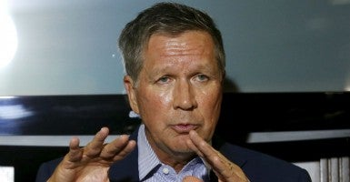 Ohio Gov. John Kasich launched his presidential campaign on July 21. (Photo: Yuri Gripas/REUTERS/Newscom)