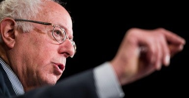 Sen. Bernie Sanders, I-Vt., has proposed a bill in the Senate that he feels would make it easier for Americans to vote. The bill would turn Federal Election Day into a national holiday. (Photo: Bill Clark/CQ Roll Call/Newscom)