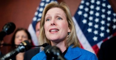 Sen. Kirsten Gillibrand said Tuesday that Planned Parenthood should not be defunded, and revealed that she has not watched the covert videos released by the Center for Medical Progress. (Photo: Tom Williams/CQ Roll Call/Newscom)