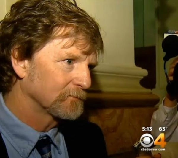 'I just don't do cakes for same-sex weddings,' Jack Phillips recalls telling the two men. (Photo: CBS4, KCNC-TV Denver)