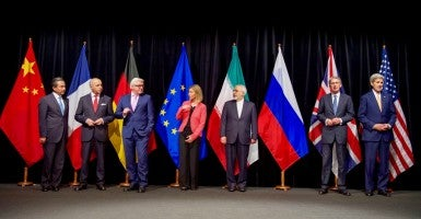 Michigan introduced two resolutions this week urging U.S. legislators to oppose the nuclear agreement between Iran and the P5+1. (Photo: State Department/Sipa USA/Newscom)