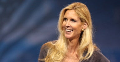 Ann Coulter speaking at the 2013 Conservative Political Action Conference (CPAC) in National Harbor, Md. (Photo: Gage Skidmore/Flickr/CC BY-SA 2.0)