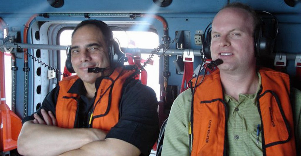 According to author James Carafano (left), faith, family, education, and health are attributes needed to best survive a disaster. (Photo courtesy of James Carafano)