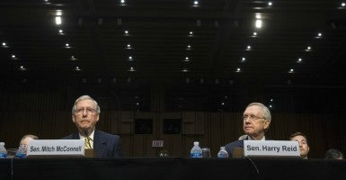 Over 200 retired U.S. generals and admirals sent a letter to congressional leaders urging them to reject the Iran deal. (Kevin Dietsch/UPI/Newscom)