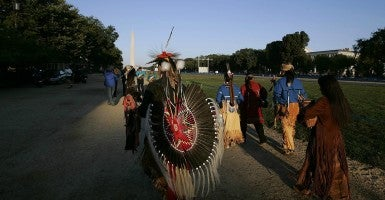 When Congress passed Obamacare, it exempted Native Americans from the individual mandate. The law did not, however, exempt Native American tribal governments from the employer mandate. Now, tribal leaders are pushing back and saying the employer mandate will cost them millions of dollars. (Photo:  Chuck Kennedy/KRT/Newscom)