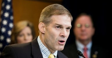 "The House Freedom Caucus has decided to oppose any spending bill that grants taxpayer funds to Planned Parenthood. In an interview for C-SPAN, House Freedom Caucus Chairman Jim Jordan said the organization ""should not get another dime,"" according to The Hill. (Photo: Bill Clark/CQ Roll Call/Newscom)"