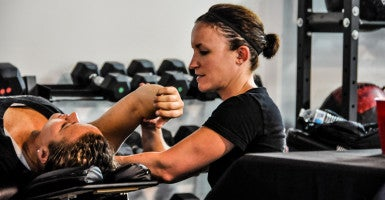 District Crossfit in Washington, D.C., would be subject to the first set of occupational licensing laws targeting personal trainers. (Credit: Rose Physical Therapy Group/Flickr/CC BY 2.0)